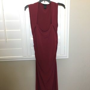 Victoria's Secret Knee Length Red Dress